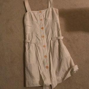 BCBG linen dress